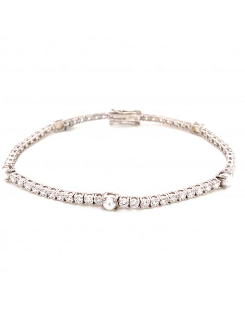June Pearl Birthstone Bracelet