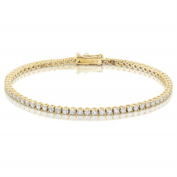 2.75ct Diamond Tennis Bracelets in 18ct Yellow Gold
