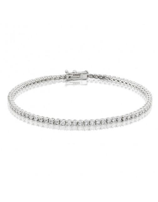 2.25ct Diamond Tennis Bracelets in 18ct White Gold