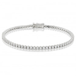 2.75ct Diamond Tennis Bracelets in 18ct White Gold