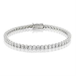 5.3ct Diamond Tennis Bracelet In 18ct White Gold
