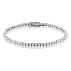 3ct Diamond Tennis Bracelet In 18ct White Gold