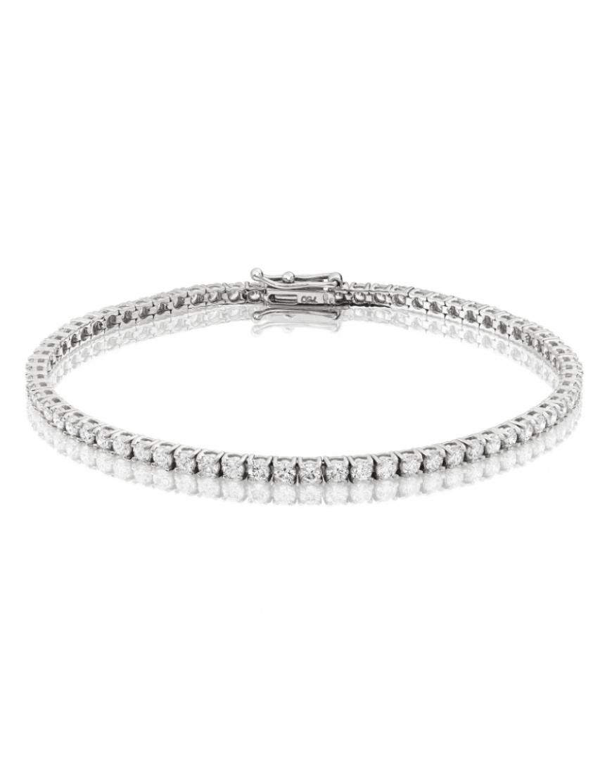 Diamond Anklet With Toe Ring Lc00035 In Anklets From: 3ct Diamond Tennis Bracelet In 18ct White Gold