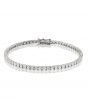 4ct Diamond Tennis Bracelet In 18ct White Gold