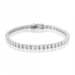 8ct Diamond Tennis Bracelet In 18ct White Gold