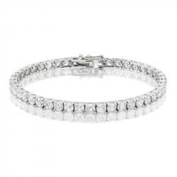 9.25ct Diamond Tennis Bracelet In 18ct White Gold
